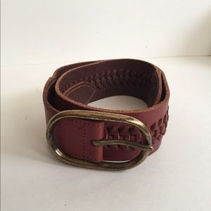 Gap Leather Size M Belt